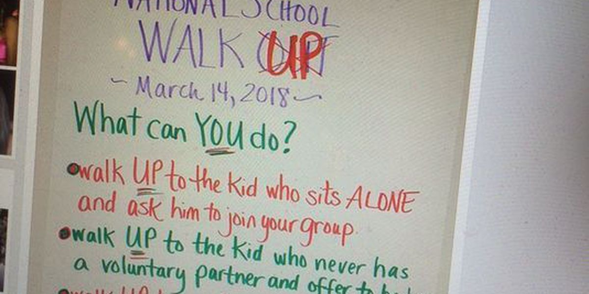 WTVM Editorial 3/19/18: Walk UP not out