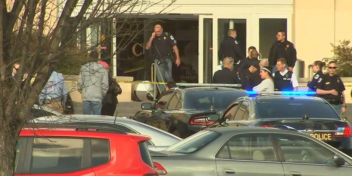 Shooting at USA mall injures one and sparks panic