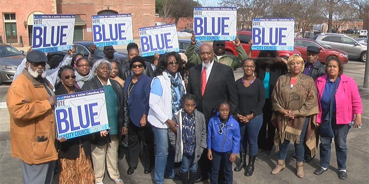 Gregory Blue announces his candidacy for Columbus City Council