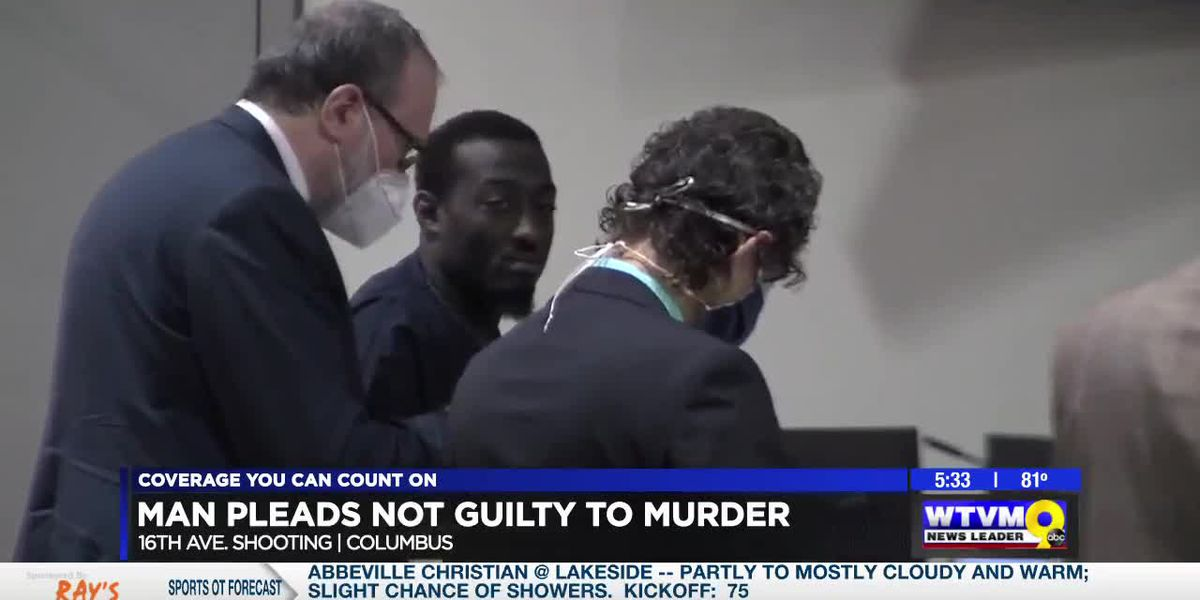 Suspect in 16th Ave. murder in Columbus pleads not guilty