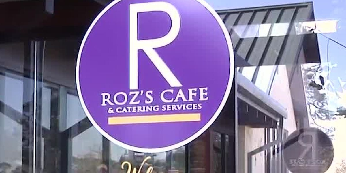 Roz's Cafe shows appreciation to poll workers by giving free lunch