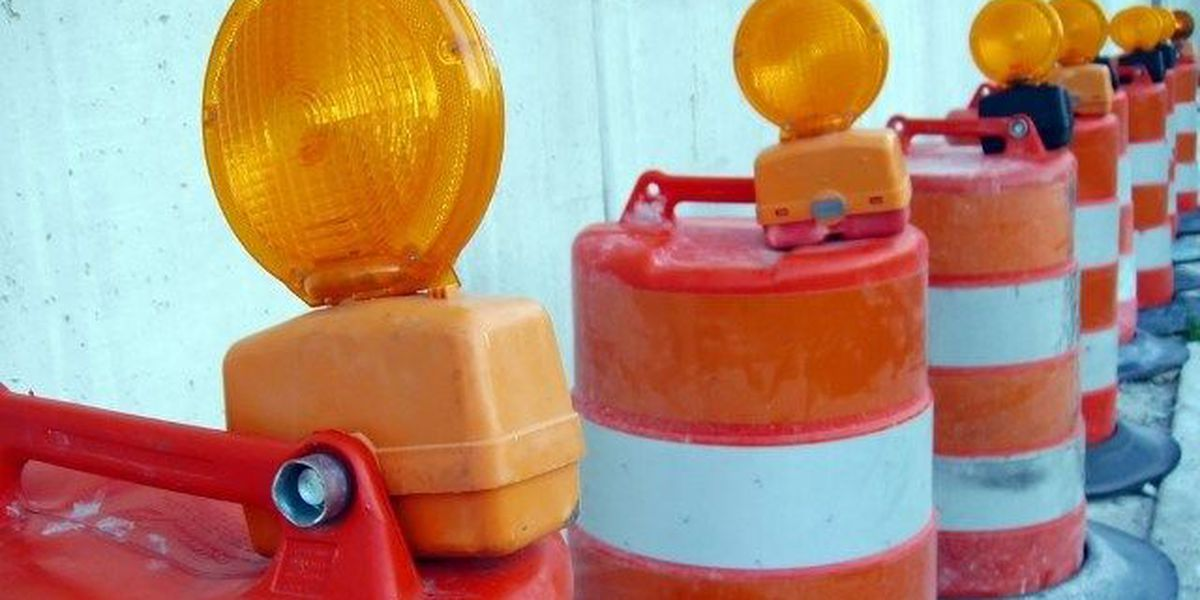 Construction work closes Lamore Drive Wednesday