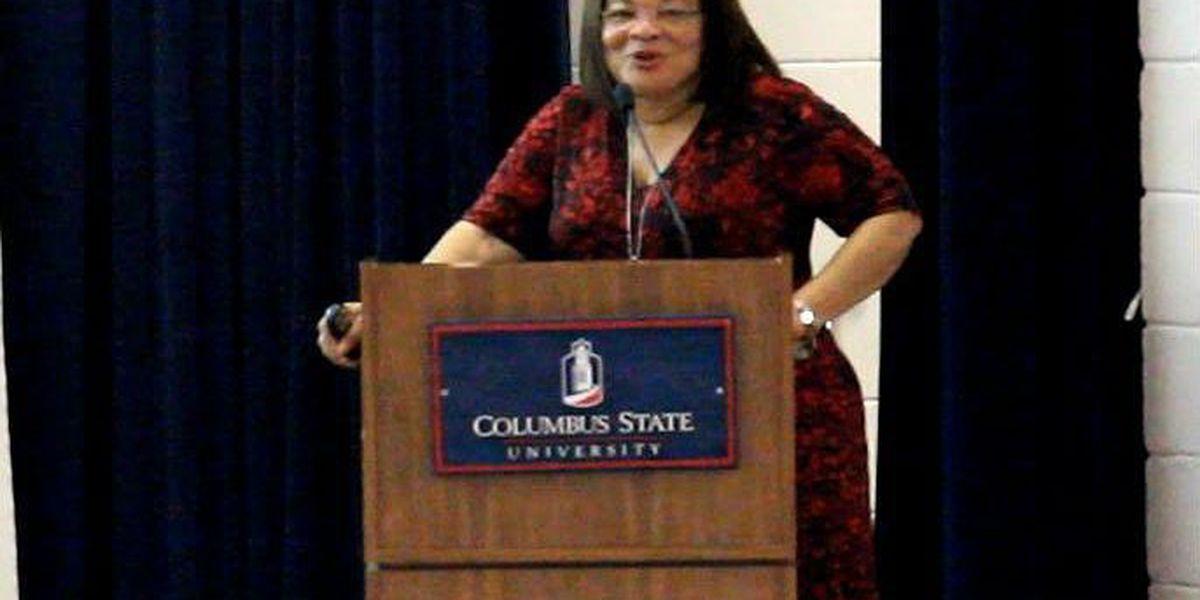Dr. Alveda King speaks at CSU's pro-life rally