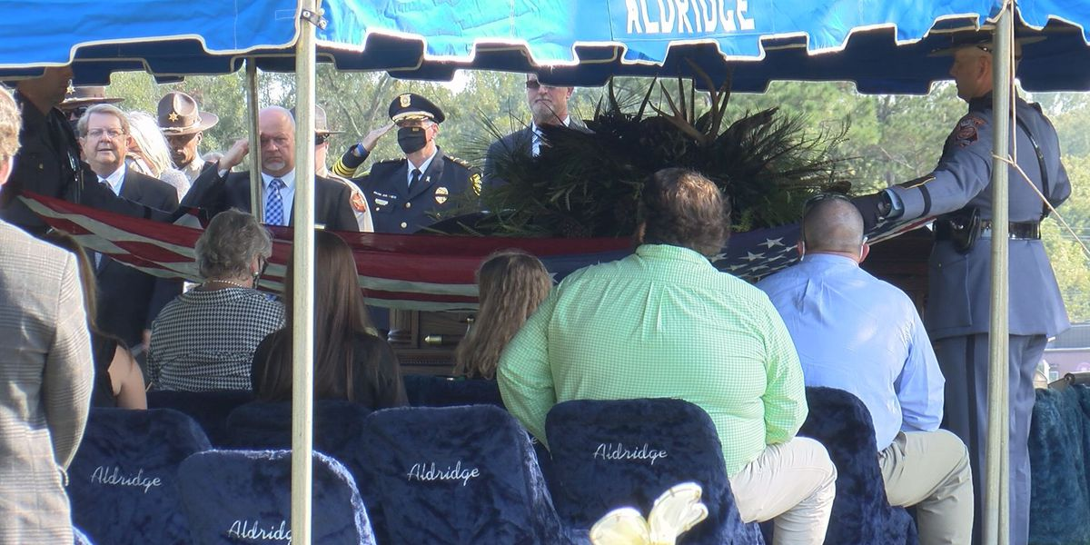 Funeral held for Sumter Co. Sheriff Pete Smith