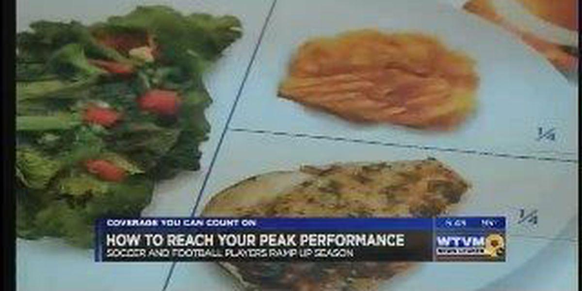 How athletes fuel their bodies to peak performance