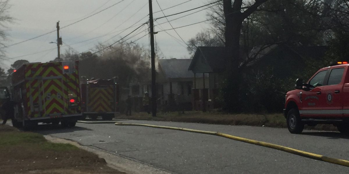 Columbus fire crews respond to house fire on Church Ave.