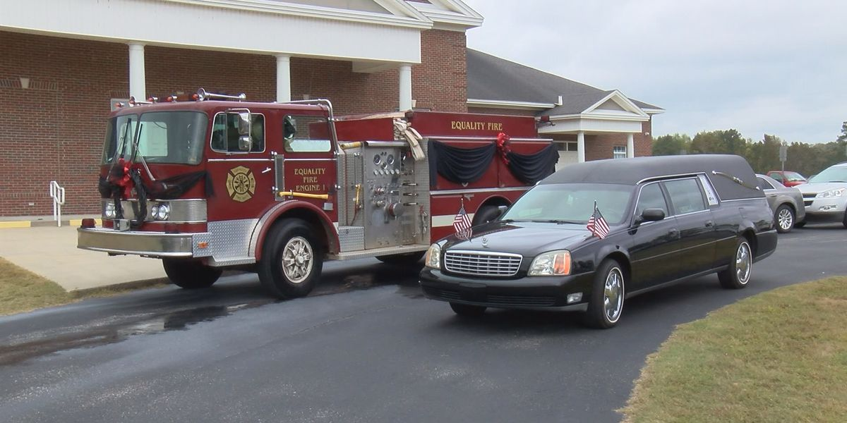 Equality volunteer firefighter laid to rest