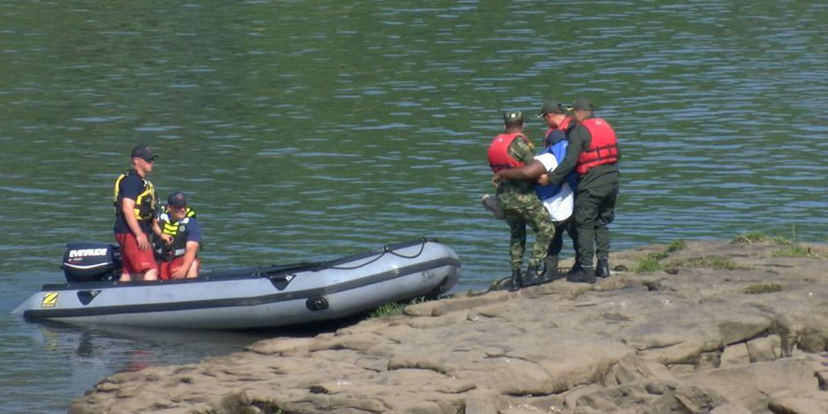 Columbus Fire & EMS host multi-agency simulation water rescue exercise