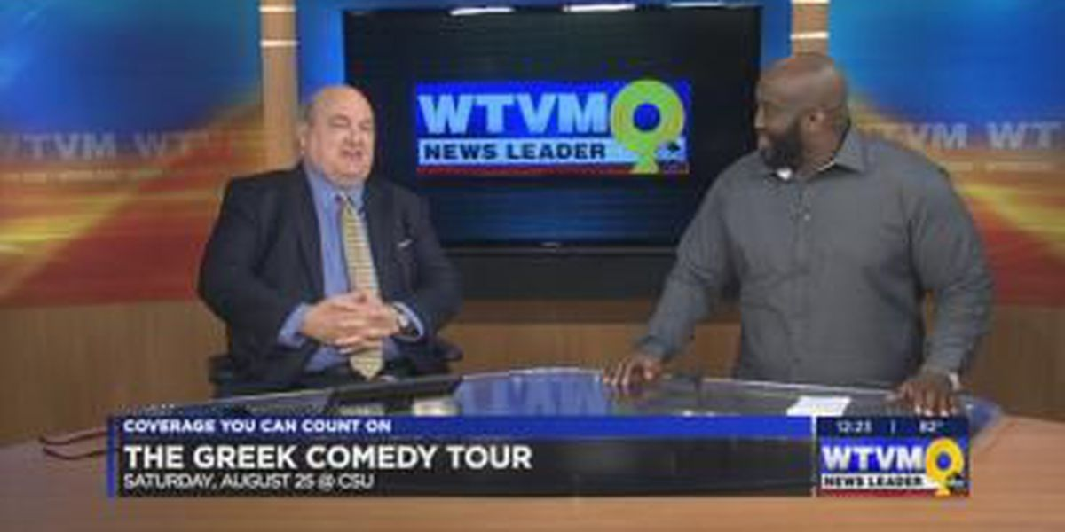GUEST SEGMENT: Greek Comedy Tour coming to the Fountain City