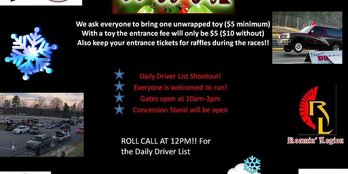 Race car drivers hosts Toys for Tots drive this Saturday