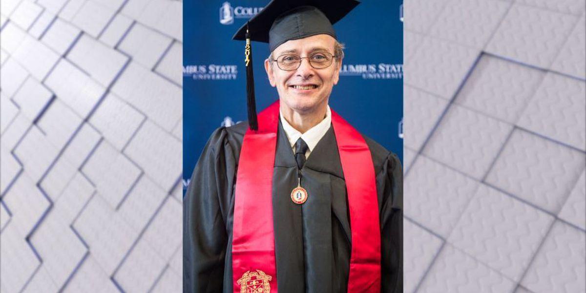CSU custodian, 59, graduates from Columbus State University