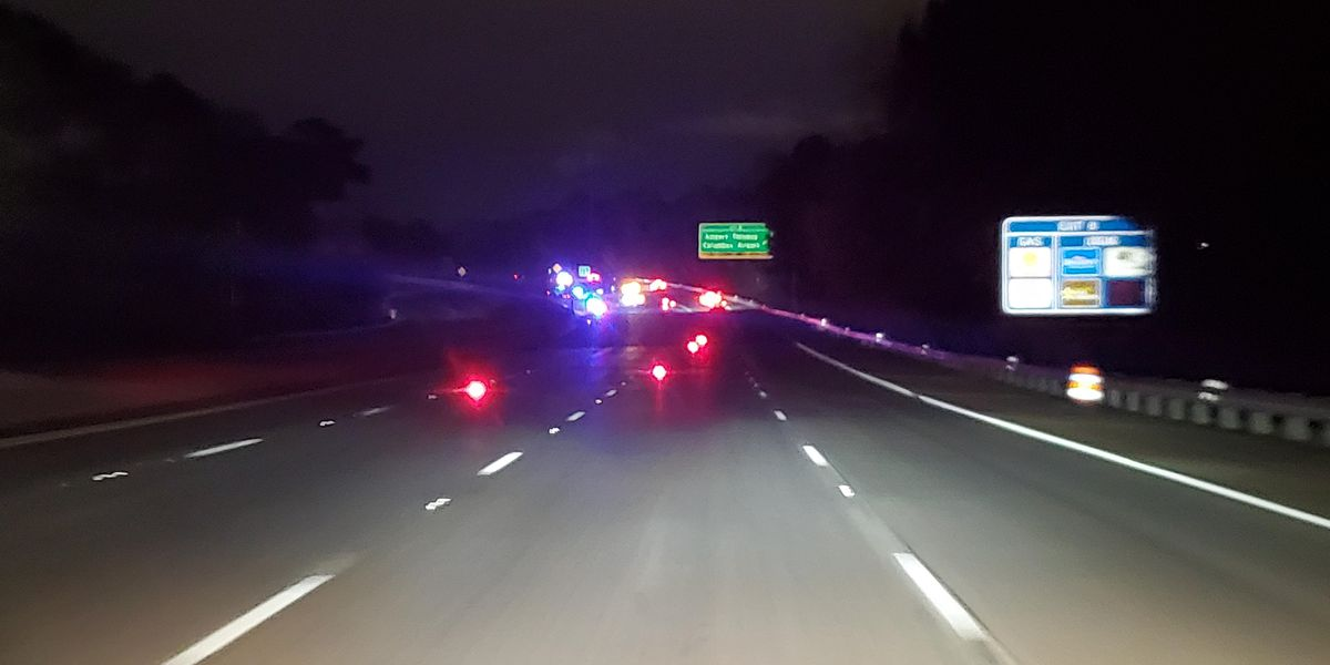 One person dead after fatal accident involving pedestrian on I-185 in Columbus