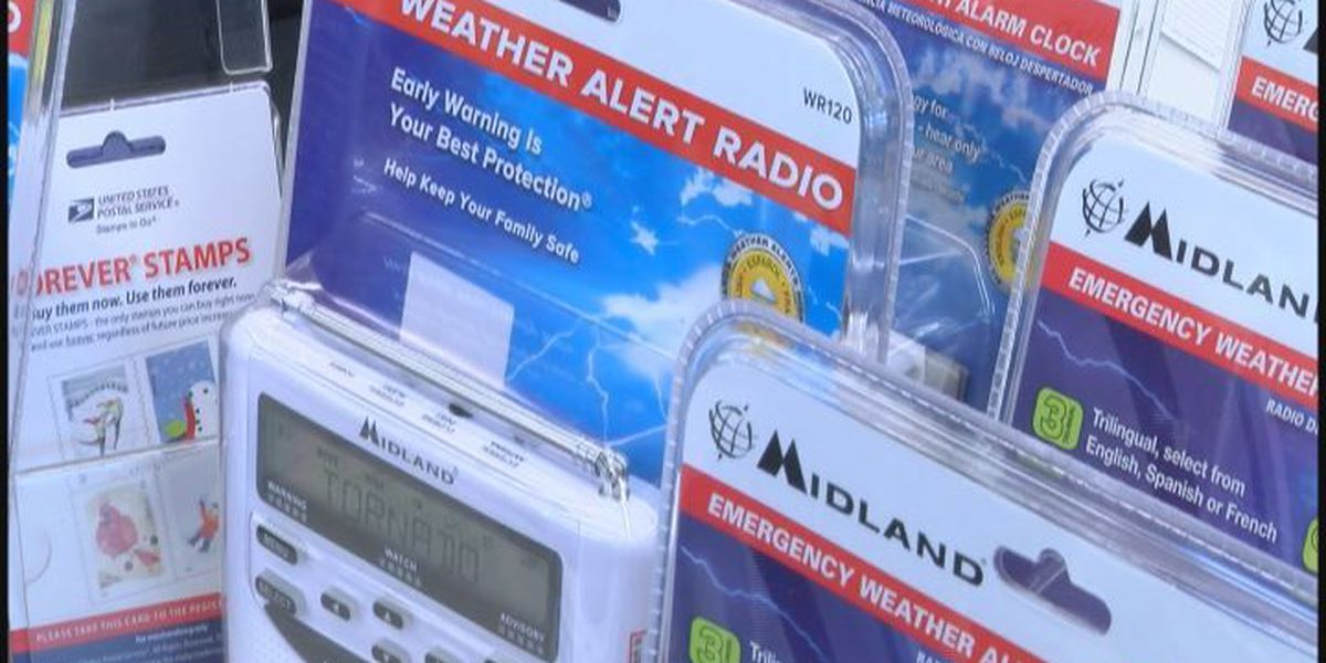 News Leader 9 hosts Weather Radio Wednesday for Lee County residents after tornado disaster