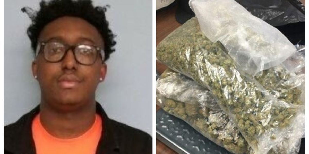 Montgomery man arrested in Auburn after $20K in marijuana seized during traffic stop