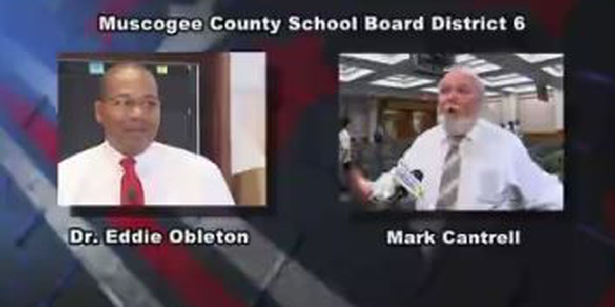 Meet Muscogee County School Board District 6 candidates Dr. Eddie Obleton and Mark Cantrell