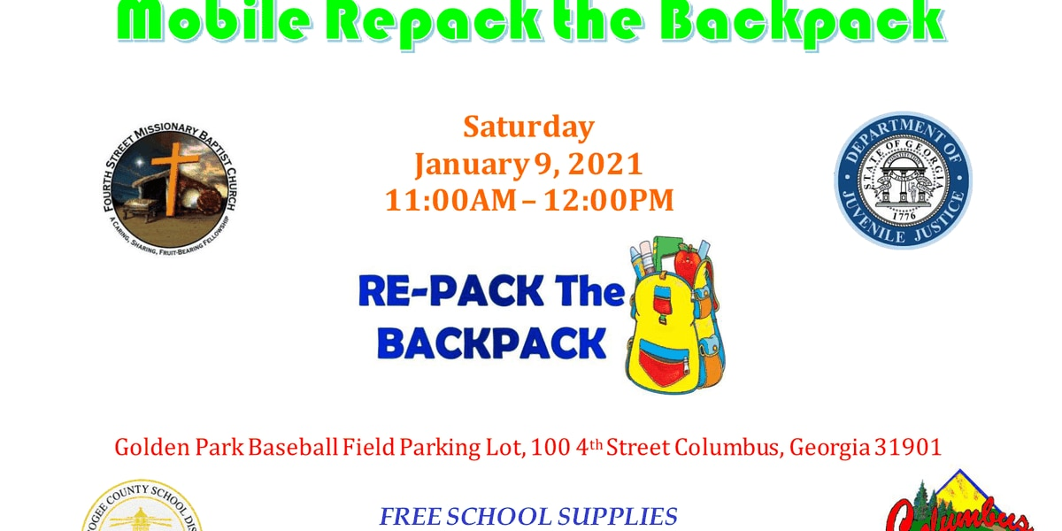 GUEST SEGMENT: Amerigroup hosting mobile repack the backpack event in Columbus
