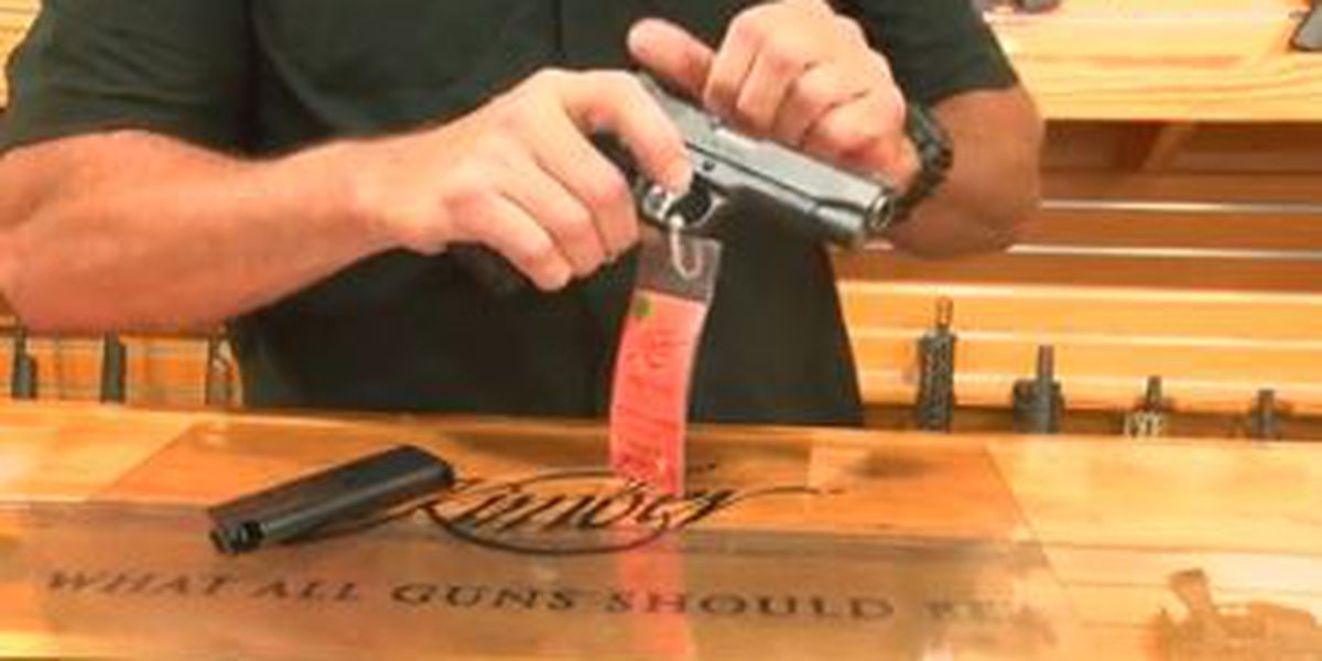 Gun shop in Columbus discusses ways to teach children about firearm safety