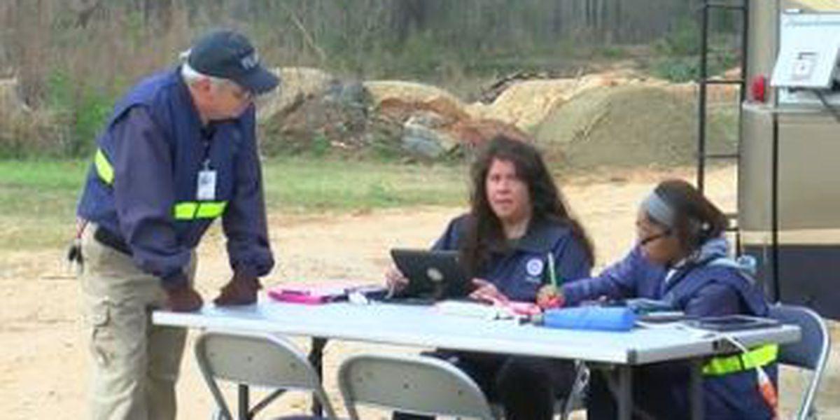 FEMA assisting tornado victims in Beauregard