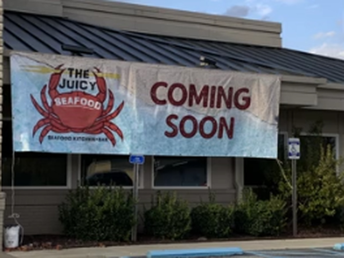 The Juicy Seafood restaurant opening soon in Auburn