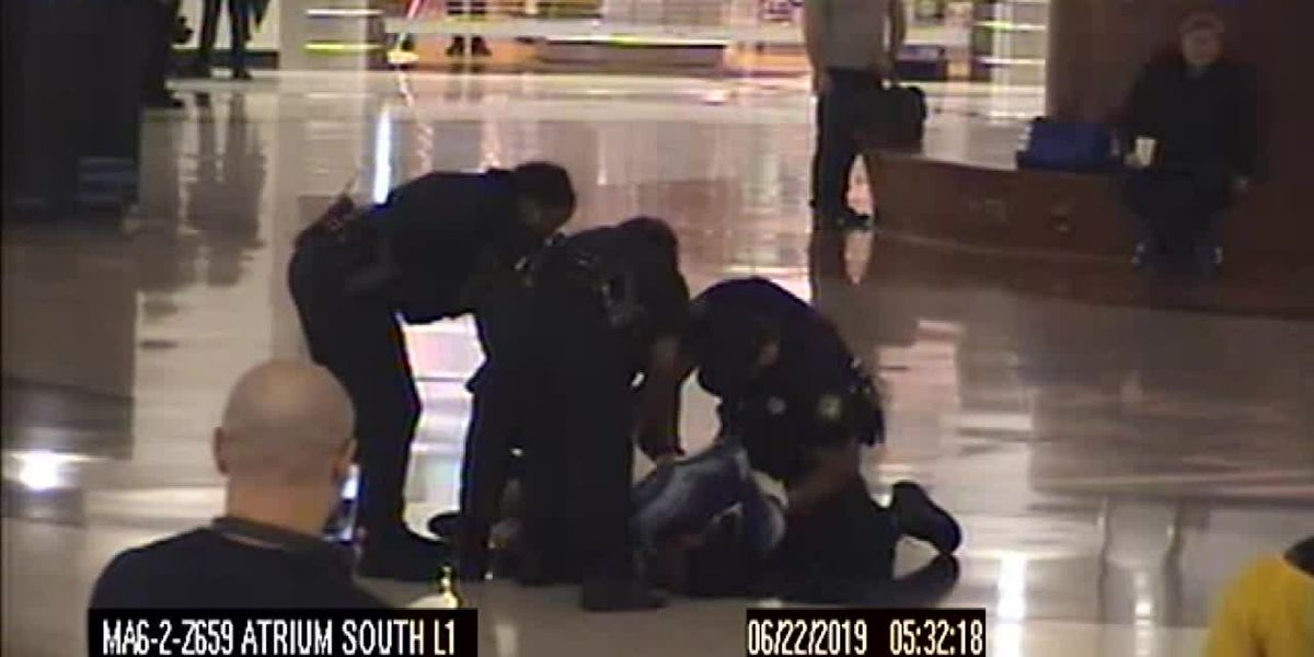 RAW: Police say video shows woman attempt to kidnap multiple children at Atlanta airport