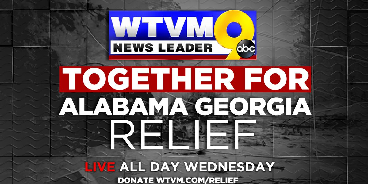 WTVM hosting 'Together for Alabama and Georgia Relief' Day