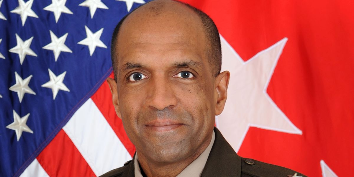 Commanding general leaving Fort Benning, promoted to Washington D.C. position