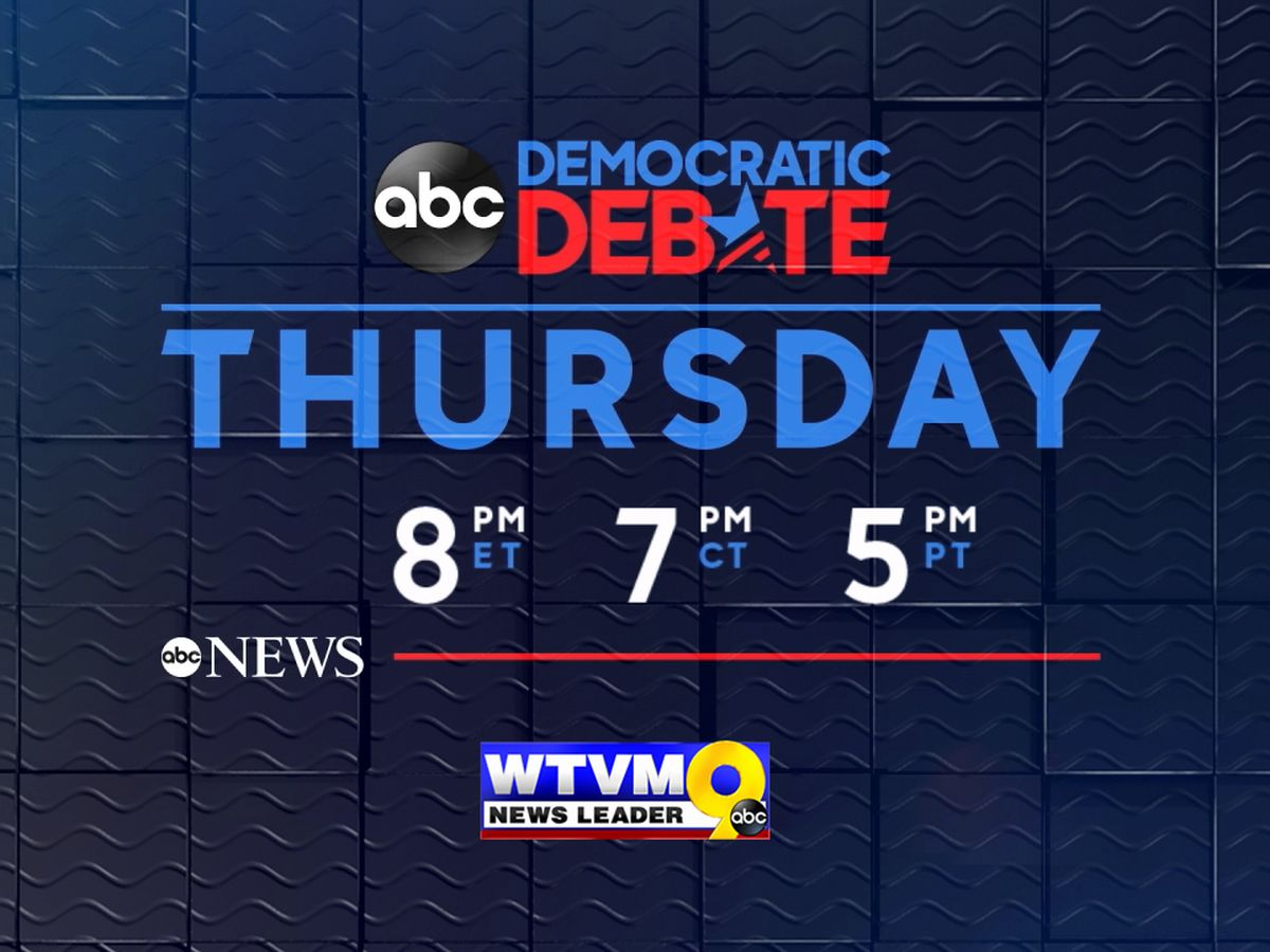 WATCH LIVE: Third Democratic Presidential Debate