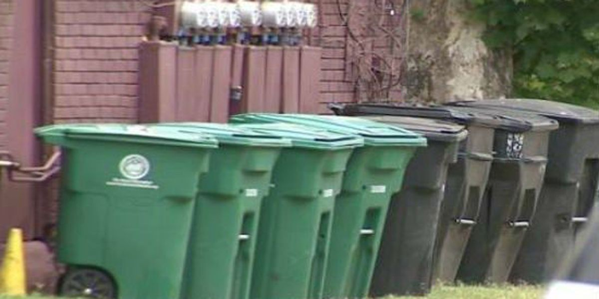 Columbus' trash pick-up holiday schedule