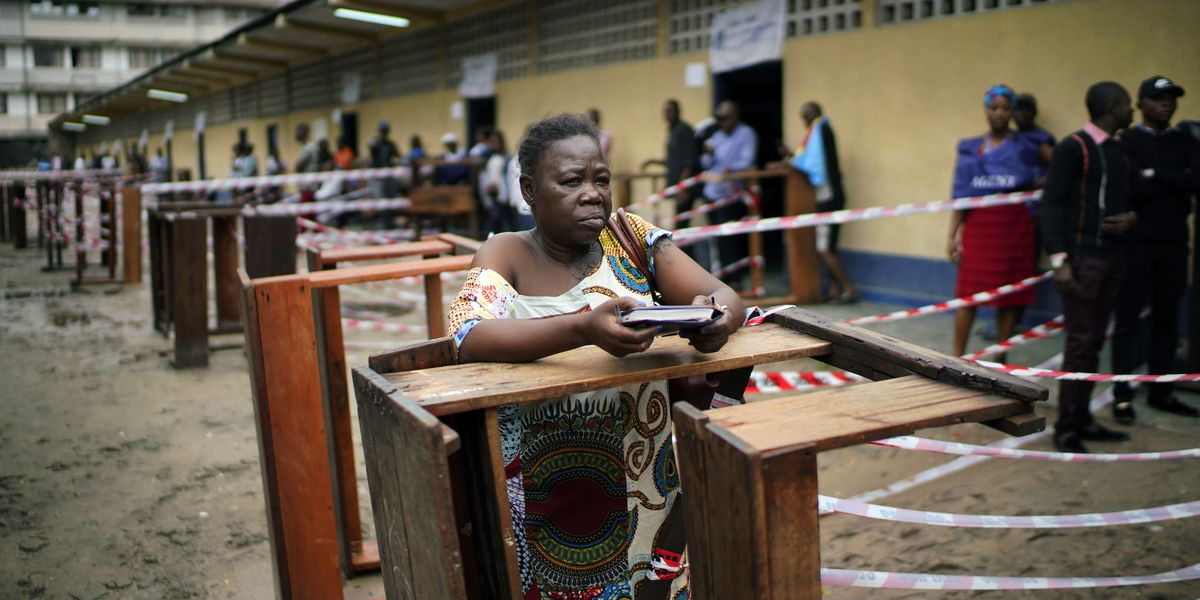 The Latest: Congo counts ballots after day of voting snags