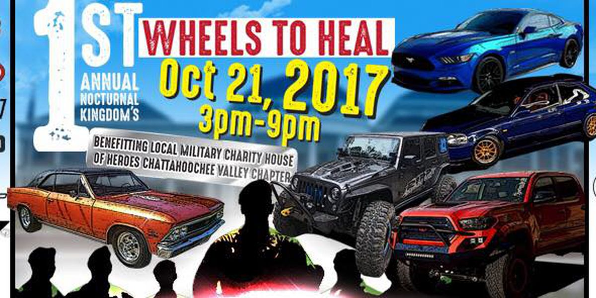 SEGMENT: First annual Wheels to Heel event will benefit local military battling PTSD