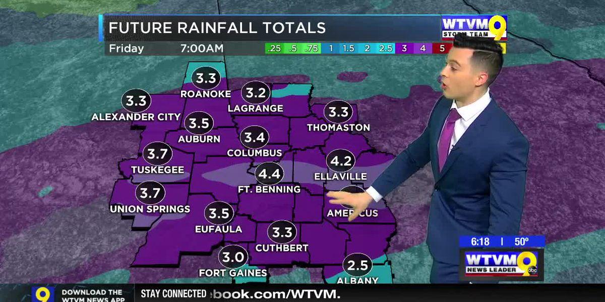 Heavy Rain & Flood Threat Midweek