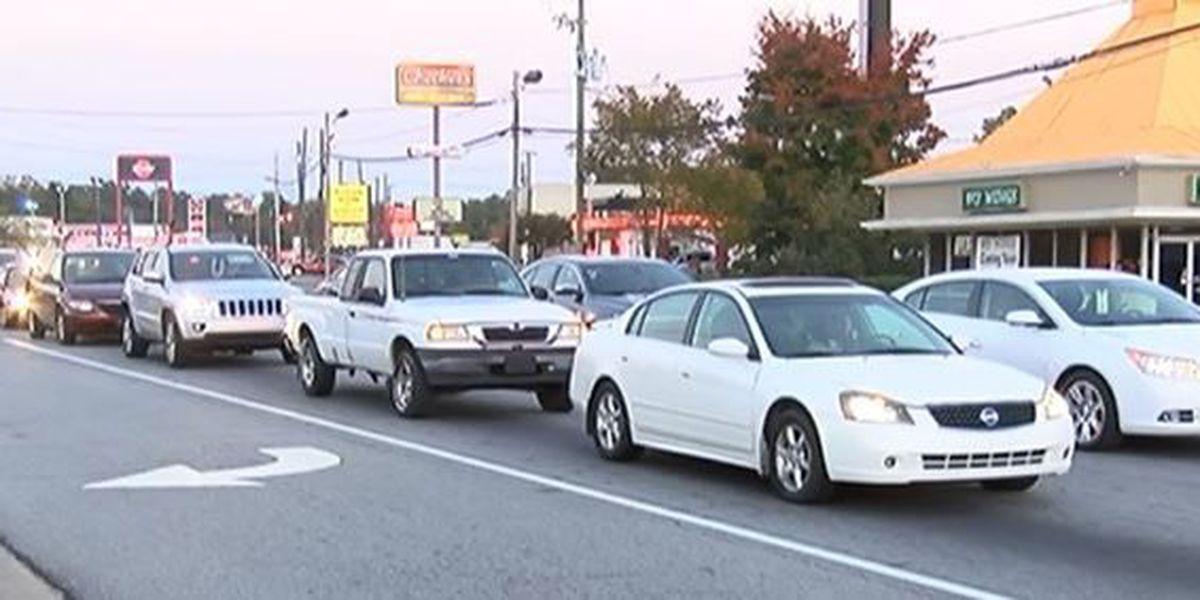Pedestrian hit on Buena Vista Rd.