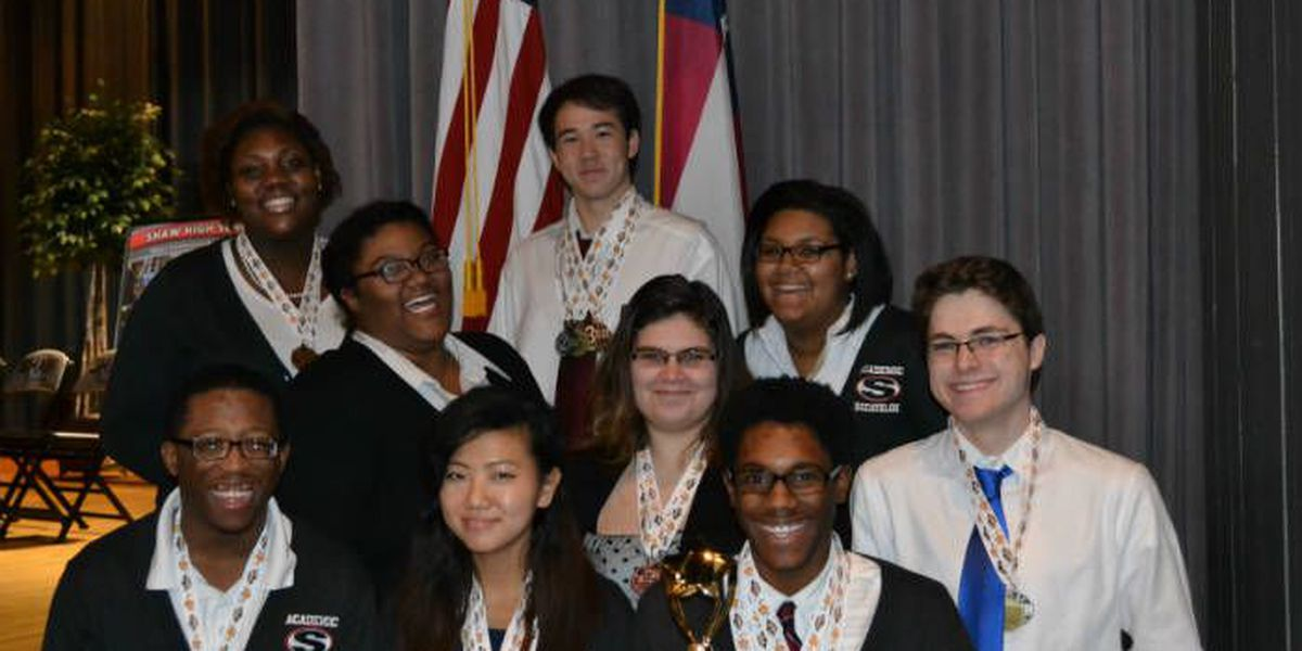 Shaw High's Academic Decathlon students win big for second year in a row