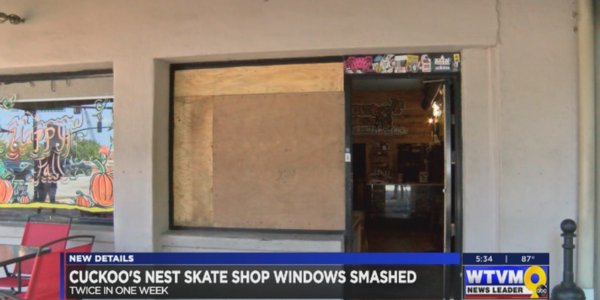 Columbus skate shop windows smashed twice in one week