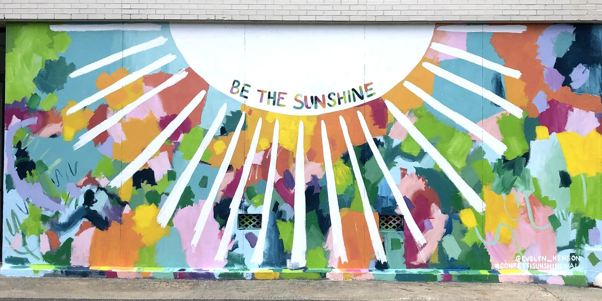 'Be the Sunshine:' New mural on display in Uptown Columbus