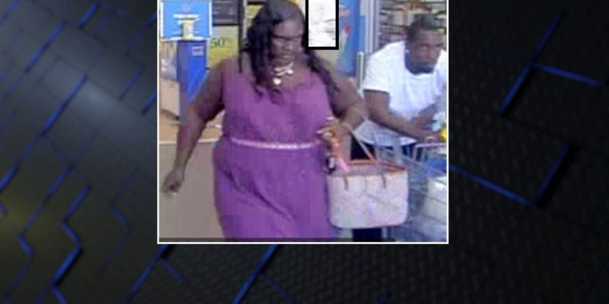 Opelika police search for 2 Walmart fraud suspects