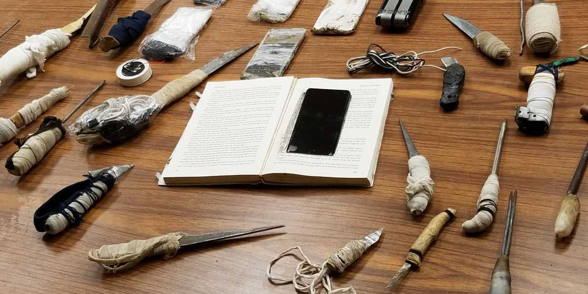 Weapons, drugs among items found during sweep of Bibb Co. Correctional Facility