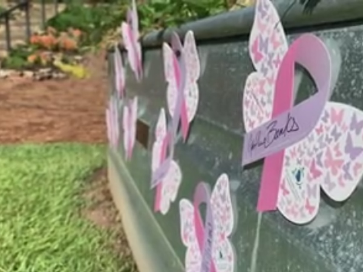 Columbus community honors those battling cancer with butterfly release