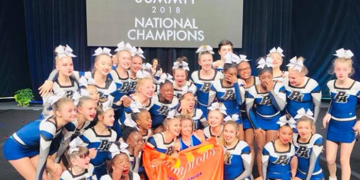Columbus cheerleading team crowned national champs