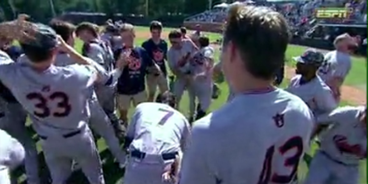 Auburn's baseball success boosts morale in community after a month of tragedy