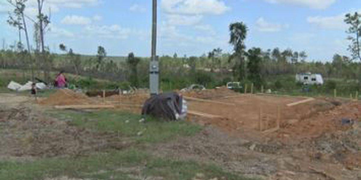 Beauregard family rebuilding home by hand following March 3rd tornadoes
