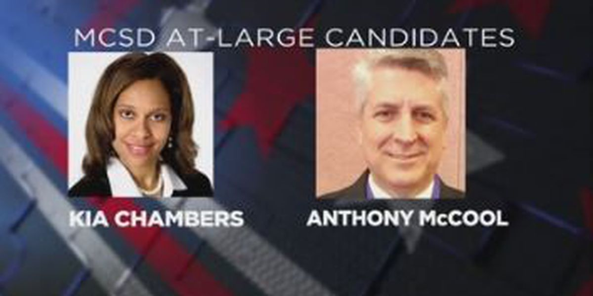 Meet MCSB at-large candidates: Kia Chambers and Anthony McCool