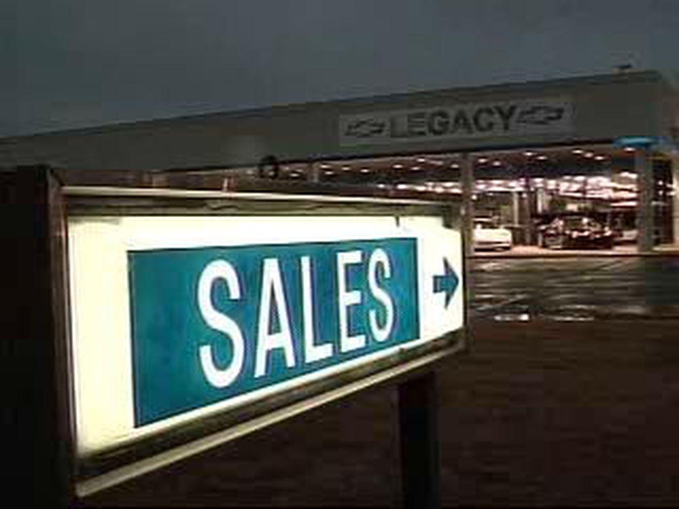 despite economy sales are up at legacy car dealership wtvm com