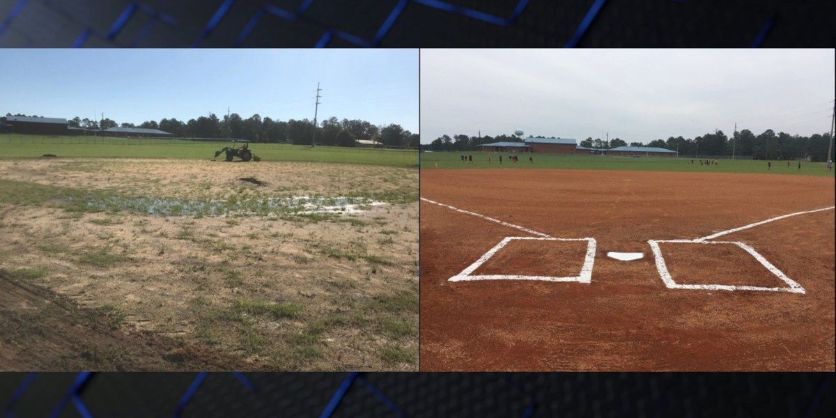 Quitman County field renovation