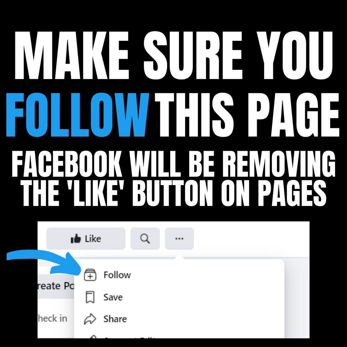 <b>Facebook</b> dropping page 'likes' in favor of 'follows' thumbnail