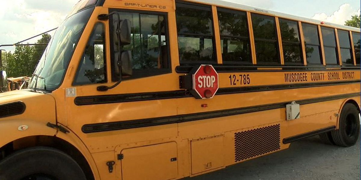 No injuries reported after accident involving Muscogee County school bus