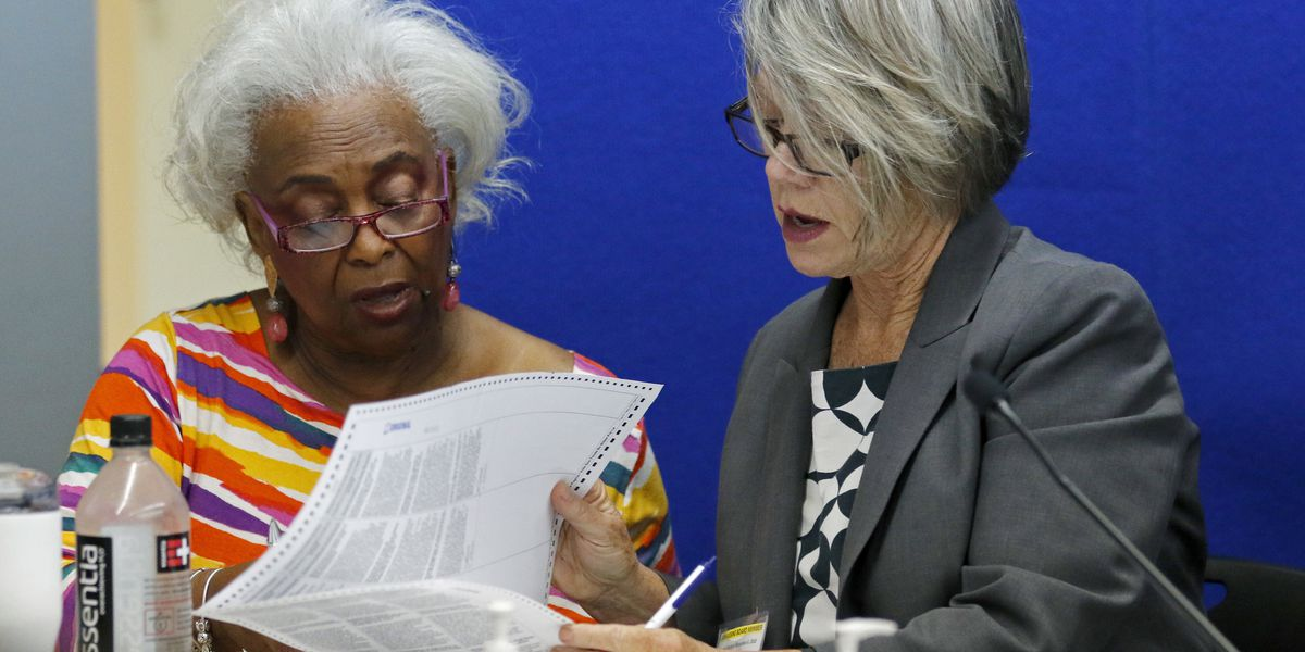 Florida official known for missteps in recount cross hairs