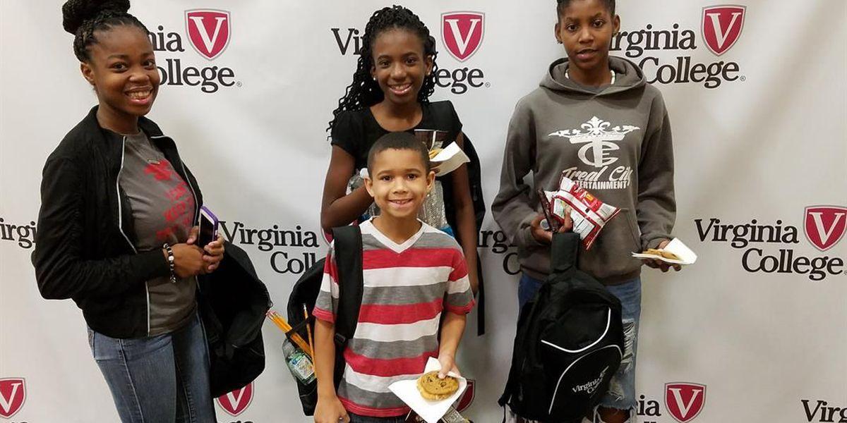 Virginia College in Columbus hosts Back to School Event