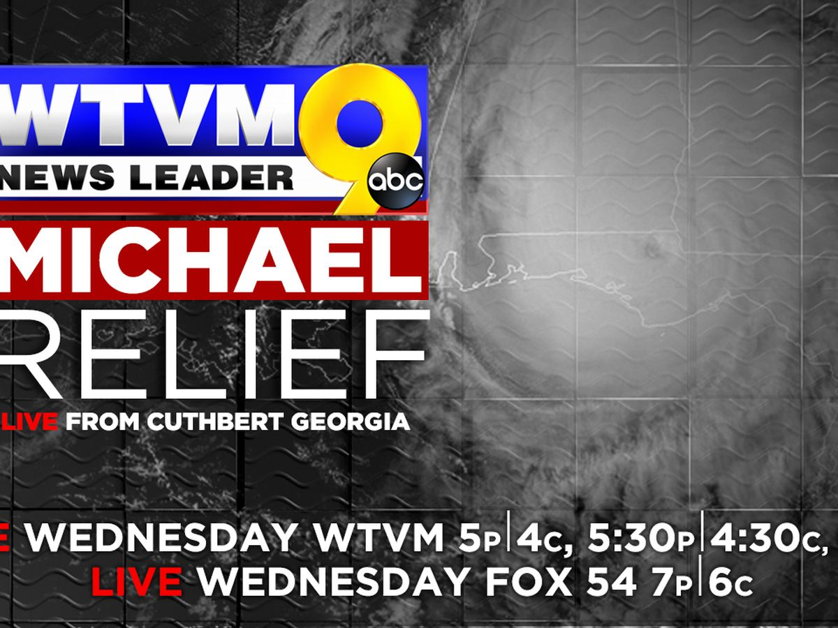 WTVM assisting with hurricane relief efforts in Randolph County, GA