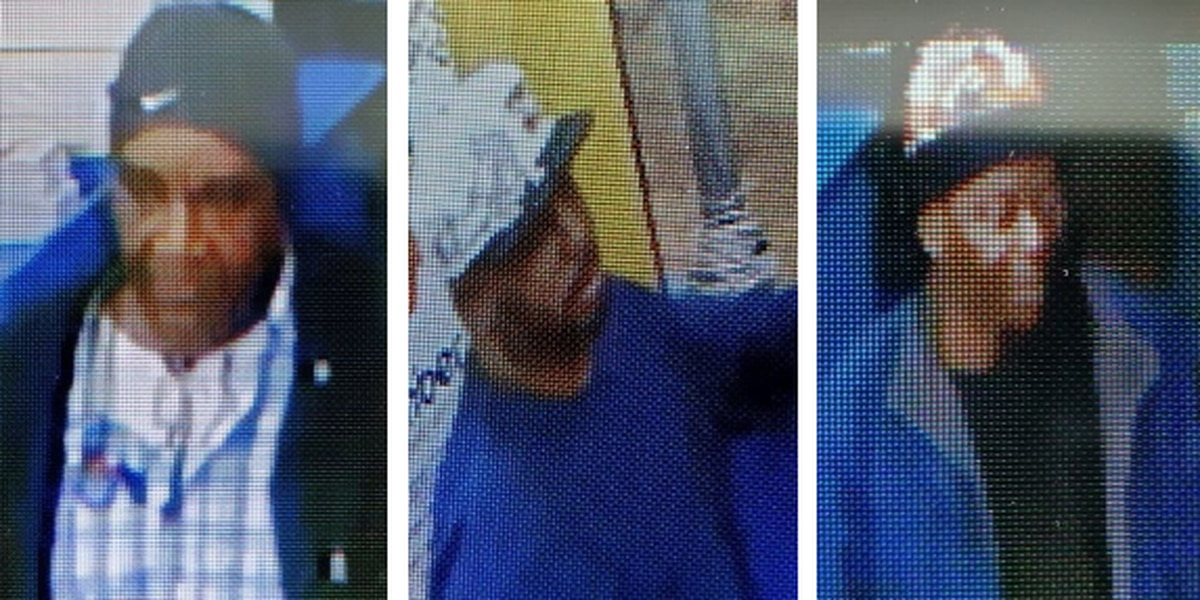 Columbus police release surveillance photos of gas station theft suspects